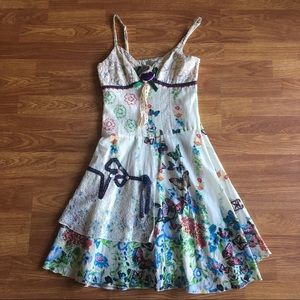 Boutique Floral Whimsical Dress